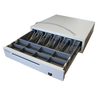 220000030   денежный ящик мидл 1.0/к0 (б.  серый)   МИДЛ